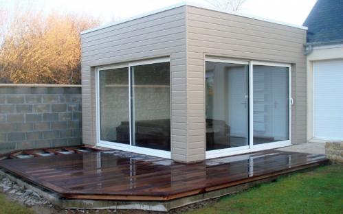 Vente maison en bois Caen