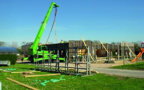 Construction de structures de loisirs, Cherbourg-Octeville