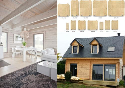 Constructeur maison bois Cherbourg-Octeville